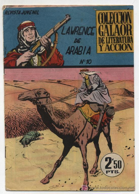 LAWRENCE DE ARABIA Nº 10. (Tebeos y Comics - Galaor)
