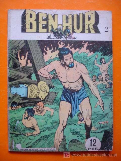 COMIC BEN-HUR Nº 2. 12 PTS. 1968 EDICIONES GALAOR. (Tebeos y Comics - Galaor)