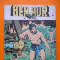 Tebeos: COMIC BEN-HUR Nº 2. 12 PTS. 1968 EDICIONES GALAOR.. Lote 18955411