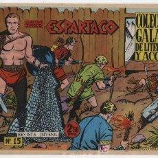 Tebeos: ESPARTACO Nº 15. GALAOR.. Lote 19977098