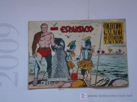 ESPARTACO Nº 25 ORIGINAL (Tebeos y Comics - Galaor)