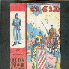 Tebeos: EL CID Nº 7, EDITORIAL GALAOR. Lote 23881486