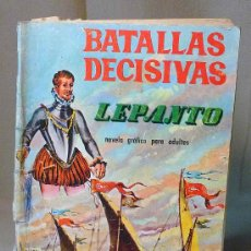 Tebeos: COMIC, BATALLAS DECISIVAS, LEPANTO, GALAOR. Lote 22347054