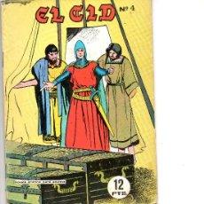 Tebeos: EL CID Nº 4 DE GALAOR . Lote 56634244