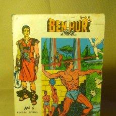 Tebeos: COMIC, BEN-HUR, Nº 6, GALAOR, 1965, ORIGINAL. Lote 22539808