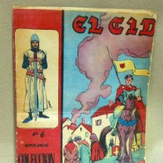 Tebeos: COMIC, ORIGINAL, EL CID, GALAOR, 1966, Nº 6. Lote 24150422