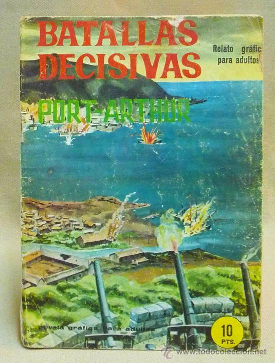 COMIC, NOVELA GRAFICA PARA ADULTOS, BATALLAS DECISIVAS, PORT ARTHUR, GALAOR (Tebeos y Comics - Galaor)