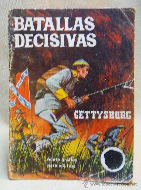 COMIC, NOVELA GRAFICA PARA ADULTOS, BATALLAS DECISIVAS, GETTYSBURG, GALAOR (Tebeos y Comics - Galaor)