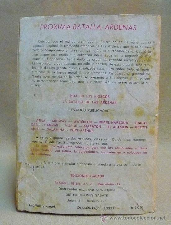 Tebeos: COMIC, NOVELA GRAFICA PARA ADULTOS, BATALLAS DECISIVAS, PORT ARTHUR, GALAOR - Foto 2 - 23812827