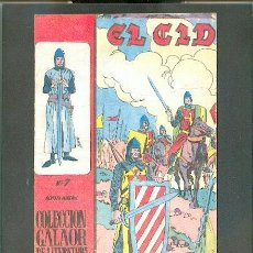 Tebeos: EL CID Nº 7, EDITORIAL GALAOR. Lote 24147983