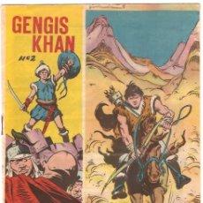 Tebeos: GENGIS KHAN Nº 2 -- ORIGINAL- GALAOR 1965. Lote 24174186