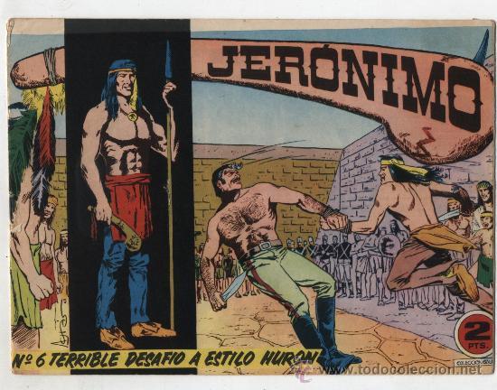 JERÓNIMO Nº 6. GALAOR. (Tebeos y Comics - Galaor)