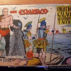Tebeos: ESPARTACO Nº 25 PENULTIMO ( ORIGINAL ED. GALAOR ) (S3). Lote 24825964