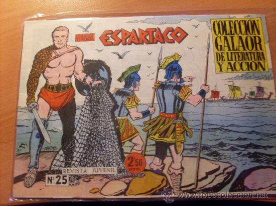 ESPARTACO Nº 25 PENULTIMO ( ORIGINAL ED. GALAOR ) (S3) (Tebeos y Comics - Galaor)