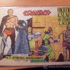 Tebeos: ESPARTACO Nº 7 ( ORIGINAL ED. GALAOR ) (S3). Lote 24826069