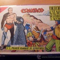 Tebeos: ESPARTACO Nº 5 ( ORIGINAL ED. GALAOR ) (S3). Lote 24826078