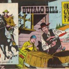 Tebeos: BUFALO BILL Nº 3 - ED.GALAOR 1965 (ORIGINAL). Lote 24839808