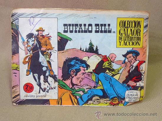 COMIC, ORIGINAL, BUFALO BILL, EDITORIAL GALAOR, Nº 11 (Tebeos y Comics - Galaor)