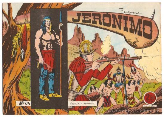 JERONIMO - Nº 64 - ORIGINAL Y PERFECTO - GALAOR 1964 -ATRAS SOLDADOS DEL MUNDO- LEER ENVIOS (Tebeos y Comics - Galaor)