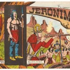 Tebeos: JERONIMO - Nº 64 - ORIGINAL Y PERFECTO - GALAOR 1964 -ATRAS SOLDADOS DEL MUNDO- LEER. Lote 26198785