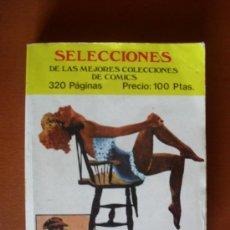 Livros de Banda Desenhada: SELECCIONES DE LAS MEJORES COLECCIONES DE COMICS Nº 1. Lote 28249269