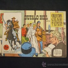 Giornalini: COLECCION GALAOR DE LITERATURA Y ACCION - BUFALO BILL - Nº 15 -. Lote 28735598