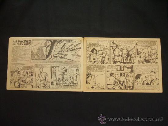 Tebeos: COLECCION GALAOR DE LITERATURA Y ACCION - ESPARTACO - Nº 1 - LADRONES DE ESCLAVOS - - Foto 2 - 28731714