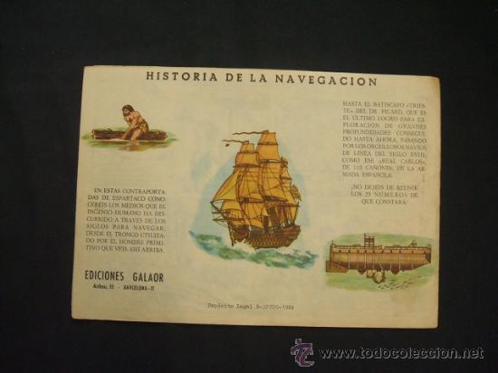 Tebeos: COLECCION GALAOR DE LITERATURA Y ACCION - ESPARTACO - Nº 1 - LADRONES DE ESCLAVOS - - Foto 7 - 28731714