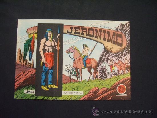 JERONIMO - Nº 63 - EDICIONES GALAOR - (Tebeos y Comics - Galaor)