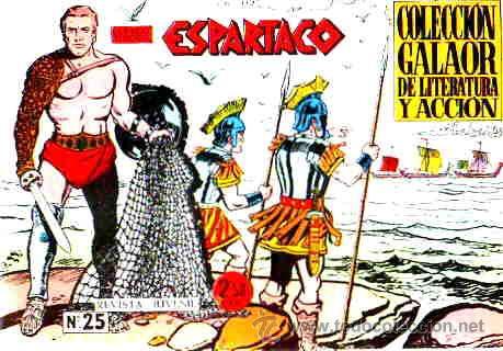 ESPARTACO (GALAOR) Nº 25 (Tebeos y Comics - Galaor)