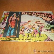 Tebeos: JERONIMO Nº 4 ORIGINAL EDITORIAL GALAOR. Lote 32750155