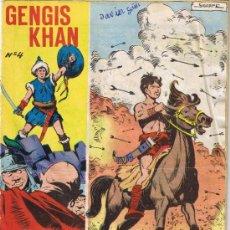 Tebeos: GENGIS KHAN - Nº 4 - COLECCIÓN GALAOR. Lote 35620251