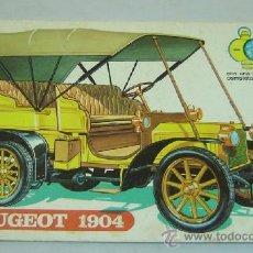 Tebeos: COMIC PEUGEOT 1904-COL.EL COCHE DEL ABUELO-CON AVENTURA DE TONI FOX-ED.GALAOR 1969-MEDIDAS 25*17 CMS. Lote 36574927