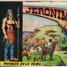 Tebeos: JERÓNIMO - NÚM. 4 - (2 PTS.) - MATANZA EN LA TRIBU . Lote 37488286