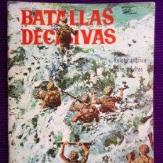 Tebeos: TEBEO BATALLAS DECISIVAS - PEARL HARBOUR - EDICIONES GALAOR - 1970. Lote 37675786