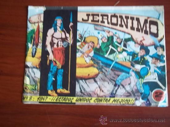 JERONIMO - Nº 8 -1847 - ESTADOS UNIDOS CONTRA MEJICO - COLECCCION GALAOR (Tebeos y Comics - Galaor)
