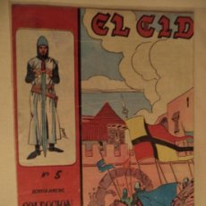 Tebeos: EL CID Nº 5 ORIGINAL. Lote 39243831