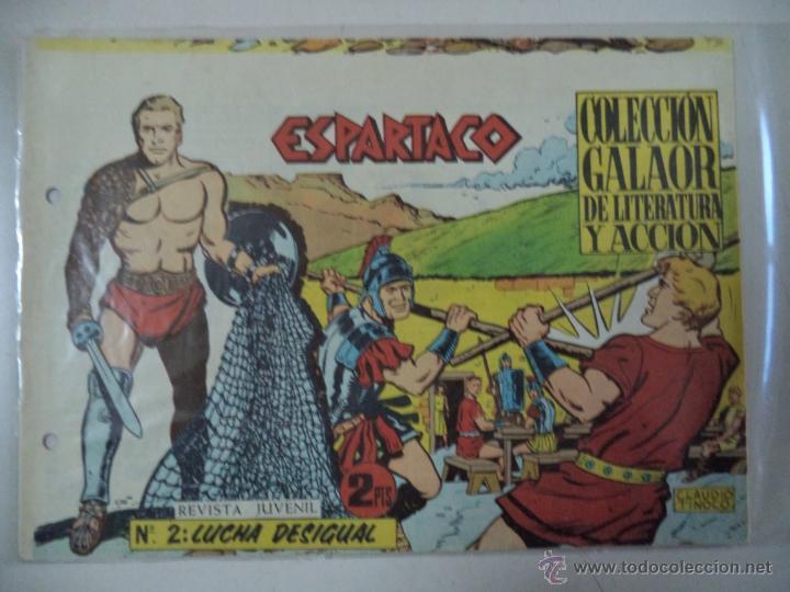 ESPARTACO Nº2.ORIGINAL (Tebeos y Comics - Galaor)