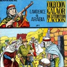 Tebeos: LAWRENCE DE ARABIA Nº1 (GALAOR, 1965) DIBUJOS DE LOPEZ ESPI. Lote 40547595