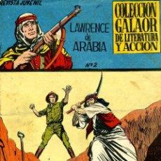 Tebeos: LAWRENCE DE ARABIA Nº2 (GALAOR, 1965) DIBUJOS DE LOPEZ ESPI. Lote 40547631