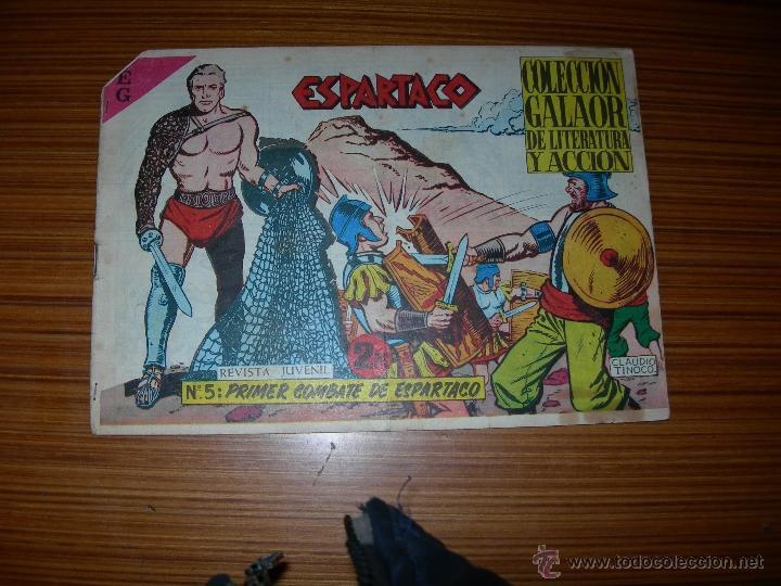 ESPARTACO Nº 5 DE GALAOR (Tebeos y Comics - Galaor)