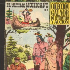 Tebeos: TEBEOS-COMICS CANDY - EL ULTIMO MOHICANO - Nº 1 - ED. GALAOR - 1965 - 2 PTAS *AA99. Lote 41454889