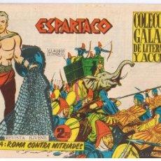 Tebeos: ESPARTACO. NUMERO 4. ROMA CONTRA MITRIADES. EDICIONES GALAOR 1964.(ST/). Lote 41521894