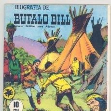 Tebeos: BIOGRAFIA DE BUFALO BILL. Lote 42316841
