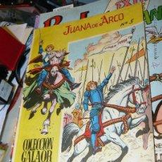 Tebeos: TEBEOS-COMICS CANDY - JUANA DE ARCO - Nº 5 - GALAOR - 1965 - GIGARPE - DIFICIL *AA99. Lote 43233439