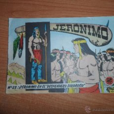 Livros de Banda Desenhada: JERONIMO Nº 22 ORIGINAL EDITORIAL GALAOR . Lote 43252895