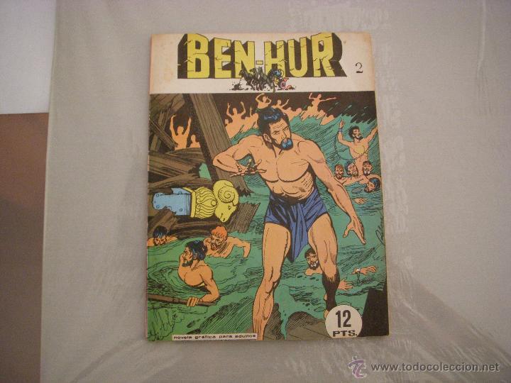 BEN-HUR Nº 2, NOVELA GRÁFICA, EDITORIAL GALAOR (Tebeos y Comics - Galaor)