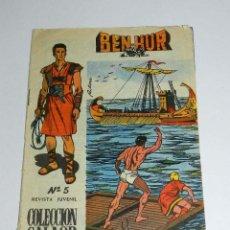 Tebeos: BEN HUR Nº 5, ED. GALAOR, AÑO 1965, ORIGINAL.. Lote 45129383