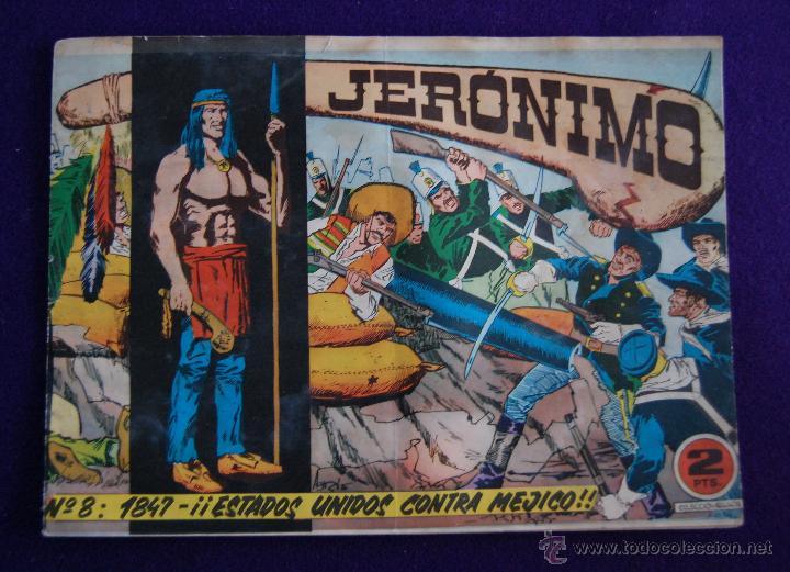 JERONIMO. Nº8. AÑO 1964. ORIGINAL. EDICIONES GALAOR- BARCELONA (Tebeos y Comics - Galaor)