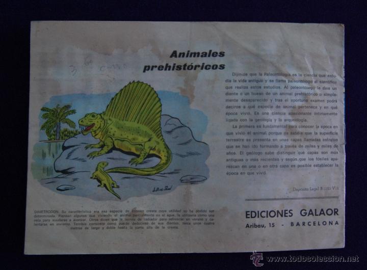 Tebeos: JERONIMO. Nº8. AÑO 1964. ORIGINAL. EDICIONES GALAOR- BARCELONA - Foto 3 - 45665729